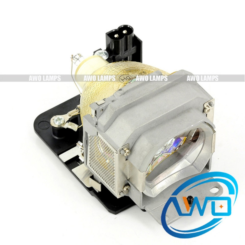 AWO Free Shipping High Quality LMP-E190 Projector Lamp with housing for VPL-BW5/ES5/EW15/EX5/EW5/EX50 awo high quality projector replacement lamp sp lamp 088 with housing for infocus in3138hd projector free shipping