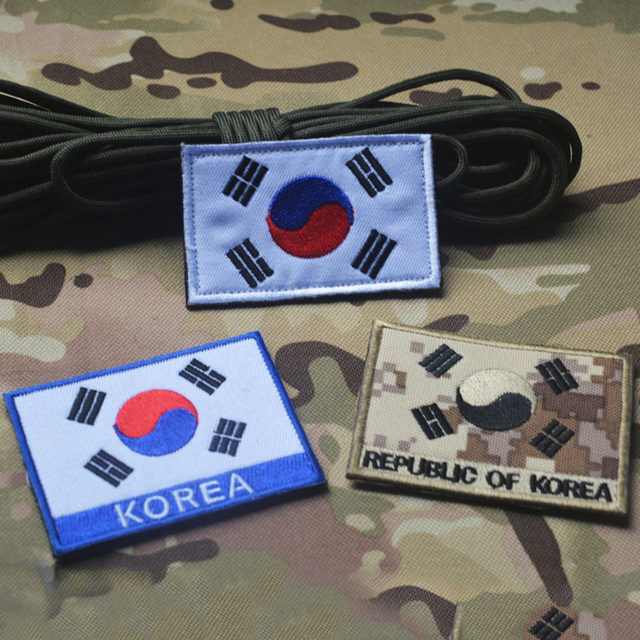 south korean flag morale patch the flag of south korea tactical