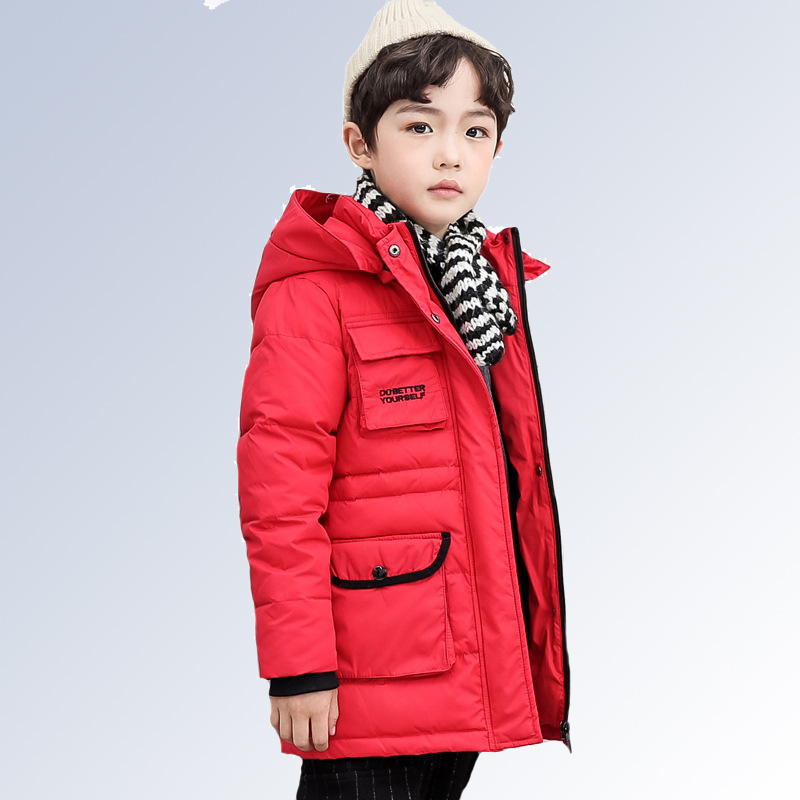 Children Winter Jacket Boys Parka Coats Baby Girls Clothing 2018 Kids Down Jacketts Black Hooded Thicking Warm Jackets and Coat цена