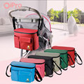 2 In1 Pram Baby Carriage Diaper Bag Backpack Nappy Bottle Thermal Bag For Mommy And Baby Stroller Hanging Organizer Bags 6Colors