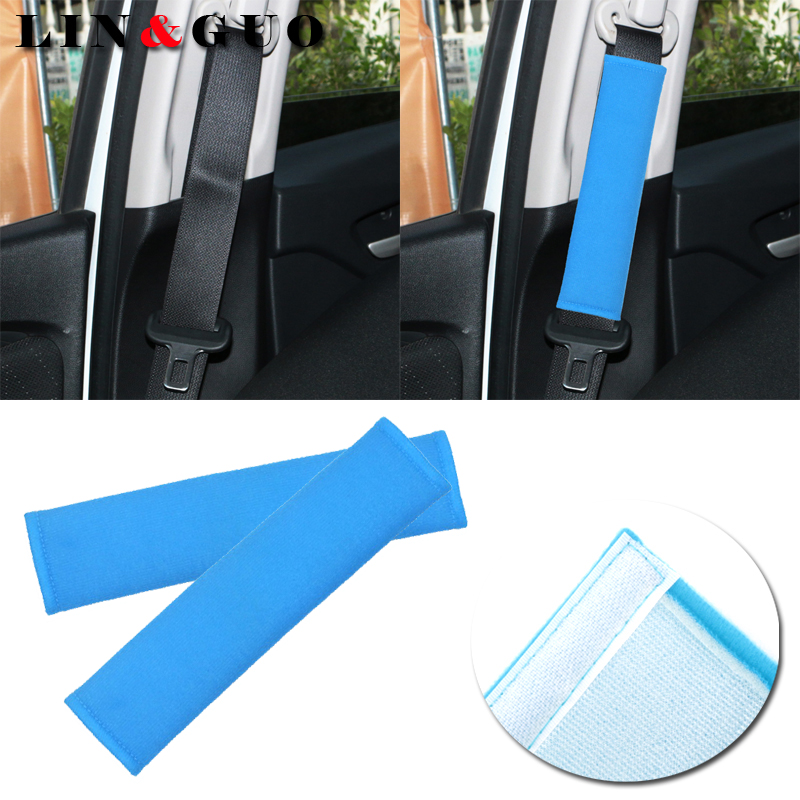 Auto Child cotton Safety belt for cars Shoulder Protection car-styling cinto pad on the seat belt cover seat belts pillow