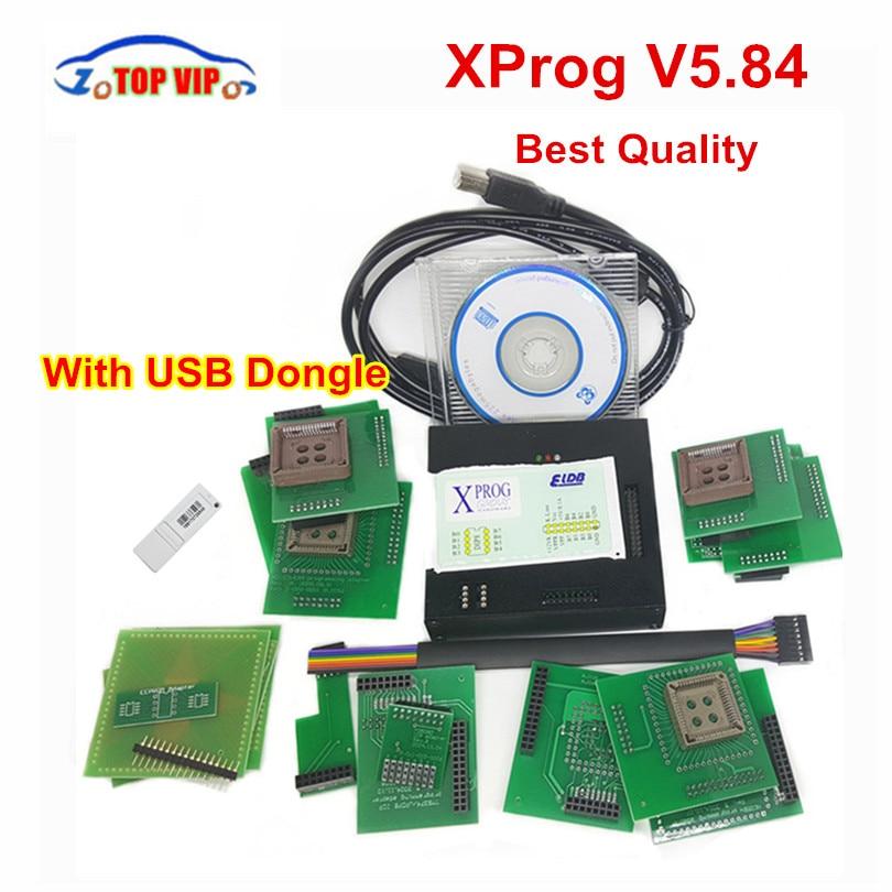 DHL Free Newest XPROG-M X Prog M Box V5.84 Auto ECU Chip Tuning Programmer Xprogm Xprog 5.84 Xprog5.84 V5.55 V5.70 V5.74 2017 new arrivals xprog v5 60 new generation released x prog m metal box xprog 5 60 higher version of v5 55 ecu programmer tool