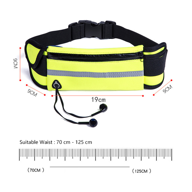 Men Women Running Waist Bag Waterproof Mobile Phone Holder Jogging Sports Running Gym Fitness Bag Lady Sport Accessories 3