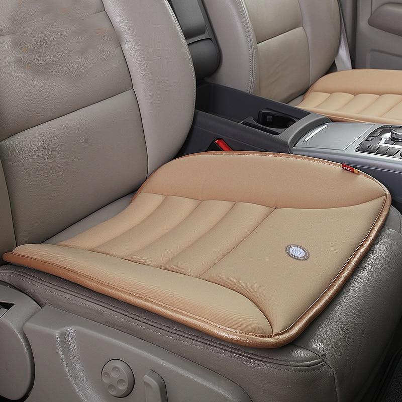 luxury soft breathable car seat cushions seat cushion memory foam cushion slip monolithic charcoal car seat - Car Seat Cushions