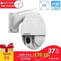 VStarcam Беспроводная купольная Поворотная ip камера наружная 1080 P FHD 4X зум CCTV Безопасность Видео сеть видеонаблюдения ip камера Wifi