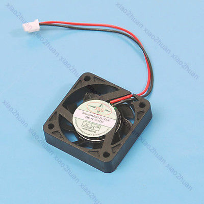 HOT DC 12V 2 Pin Brushless Cool Cooler Fan For VGA Graphics 4pin mgt8012yr w20 graphics card fan vga cooler for xfx gts250 gs 250x ydf5 gts260 video card cooling