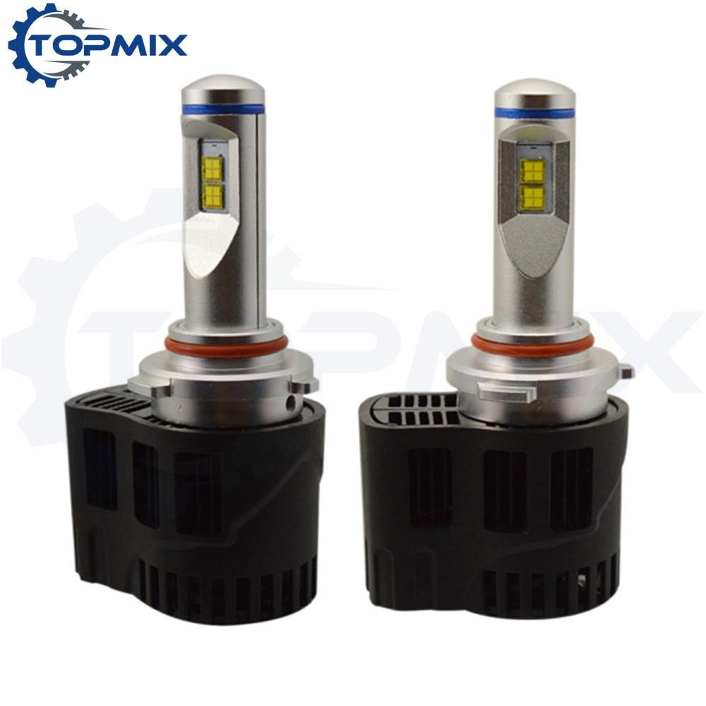 ФОТО 9005 HB3 LED Car Headlights 110W 10400lm P6 MZ LED Headlamp Canbus Error Free Auto Driving Fog Bulbs 3000K/4000K/5000K/6000K