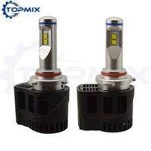9005 HB3 LED Car Headlights 110W 10400lm P6 MZ LED Headlamp Canbus Error Free Auto Driving Fog Bulbs 5000K/6000K