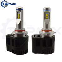 9005 HB3 LED Car Headlights 110W 10400lm P6 MZ LED Headlamp Canbus Error Free Auto Driving
