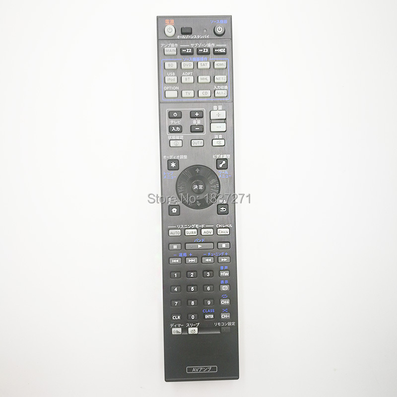 original remote control For pioneer  SC-LX88-K/S SC-LX78-K/S SC-LX58-K SC-LX88 SC-LX78 av power amplifier ресивер pioneer sc lx81