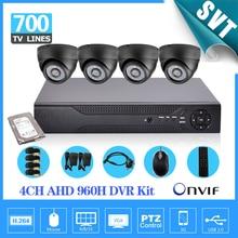 House video surveillance 4ch 960H 1080p HDMI DVR 700TVL safety indoor digicam system dvr recorder equipment four channel 1tb HDD SK-152