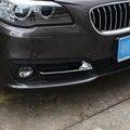 Para BMW Serie 5 F10 F11 520 525 528 530 2014 2015 2016 Coche Que Labra la Luz Antiniebla Delantera Cubierta de La Lámpara Trim Marco accesorios