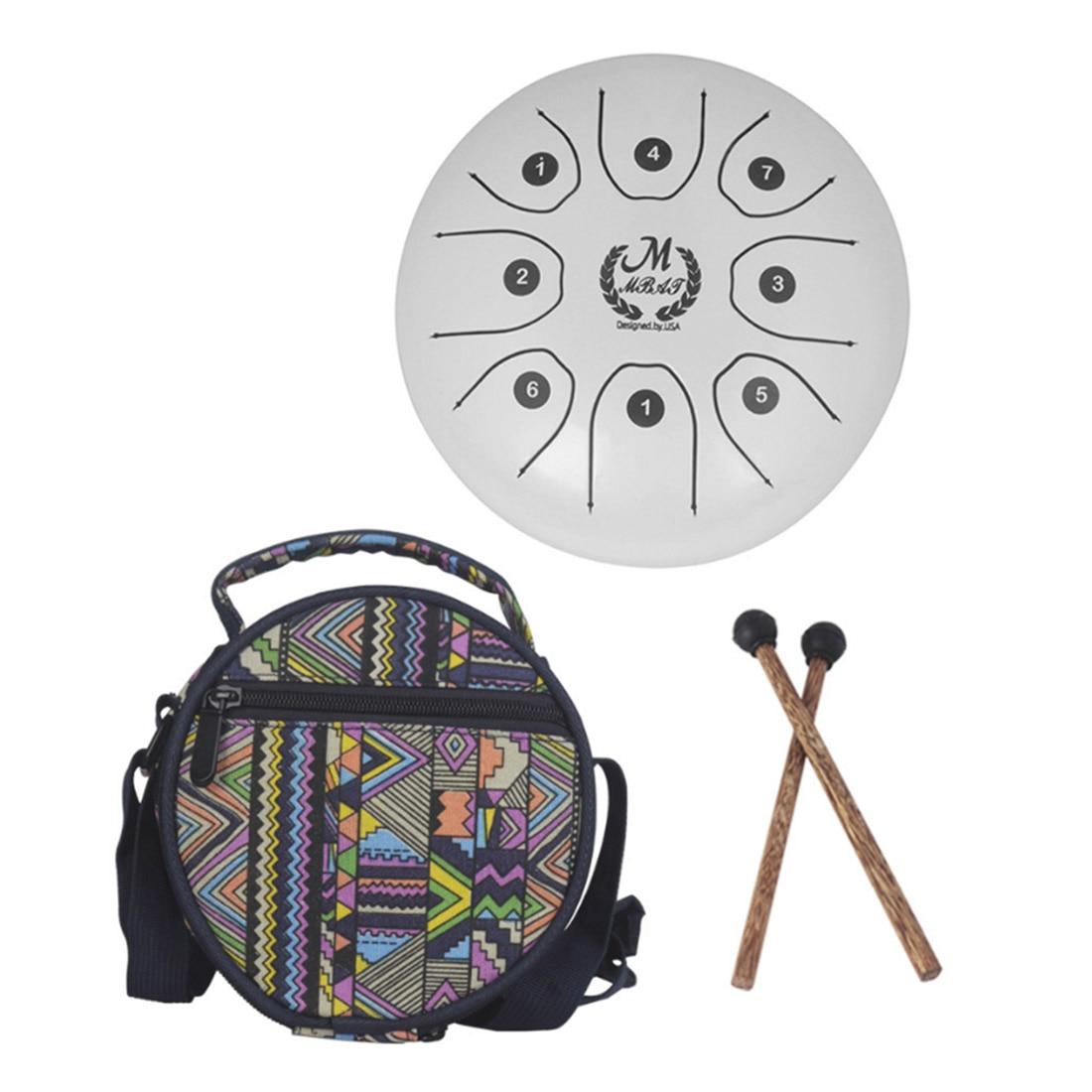 Meibeite langue tambour Handpan tambour tambour à main Fanyin tambour Instrument à Percussion jouets pour enfants apprentissage Kit de musique