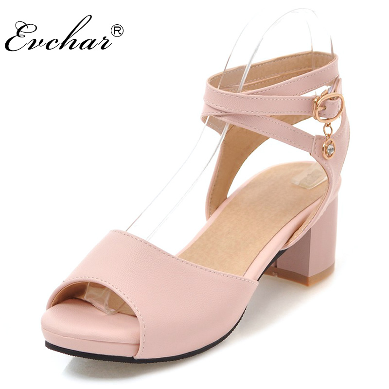 Hot Summer Leisure Women's Fashion  shoes med Heels 1
