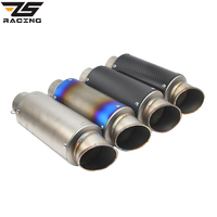 Zs racing 60mm two size inlet carbon fiber motorcycle exhaust tip muffler stainless steel exhaust pipe.jpg 200x200