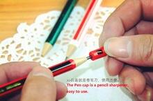 3 шт/лот милый экологичный 2b механический карандаш с точилкой