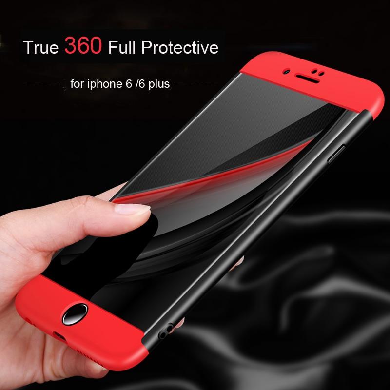 IPhone 6 6S Plus üçün Vpower telefonları, PC + TPU 3 qatlı - Cib telefonu aksesuarları və hissələri - Fotoqrafiya 3