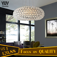110V/220V R7S Bulb Pendant Light Caboche Acrylic Balls Pendent lamp Dinning Room Living Room Bedroom Hanging Lamp Free Shipping