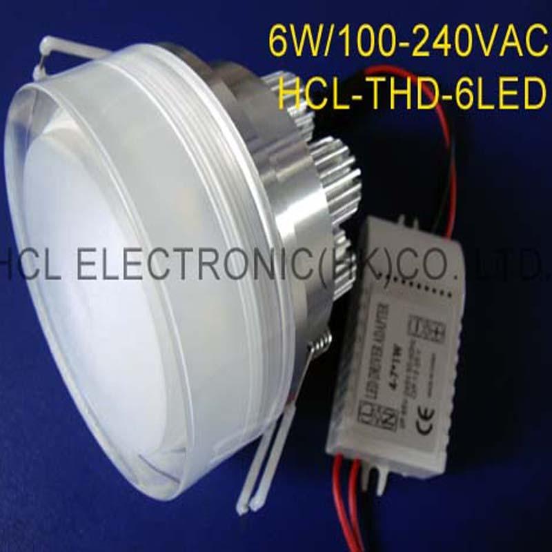 Hoge kwaliteit 6W LED-plafondlampen, 6w high power led downlight - LED-Verlichting