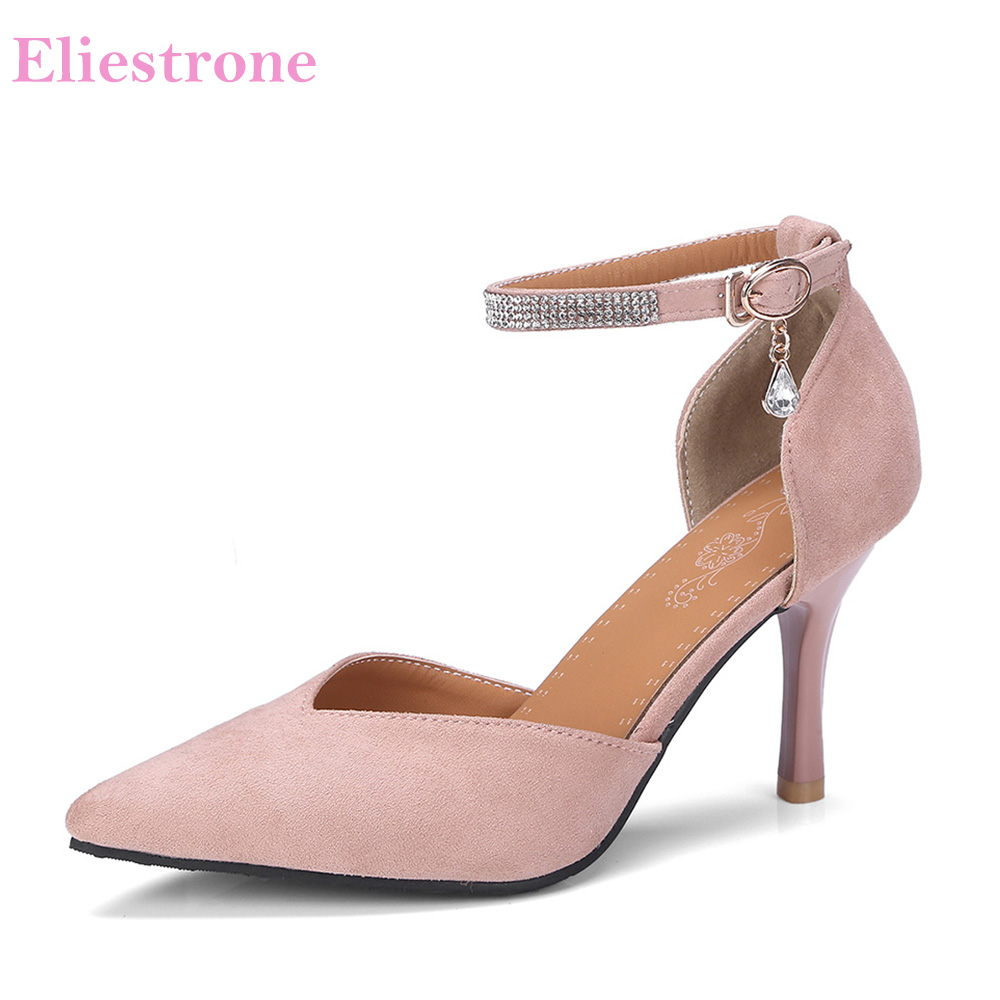 f0878dd6f9b Brand New Hot Sexy Red Beige Women Nude Sandals Stiletto High Heels Ladies  Party Shoes AS018