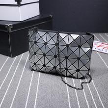 цены Small Women Bags PU leather Messenger Bag Clutch Bags Designer Mini Shoulder Bag Women Laser Handbag Hot Sale bolso mujer purse