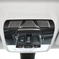 For BMW F48 F15 F16 F30 F34 F45 F46 X1 X2 F47 X5 X6 Carbon Fiber ABS Plastic Car Interior Front Reading Light Cover Trim