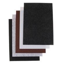 1 шт. самоклеющиеся квадратные войлочные подушечки для мебели, напольный протектор, аксессуары для мебели DIY 30x21 см