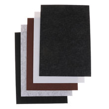 2018 New 1PCS Self Adhesive Square Felt Pads Furniture Floor Protector DIY Furniture Accessories 30x21cm(China)