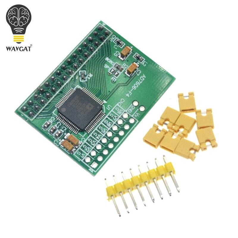 WAVGAT 16Bits ADC 8CH Synchronization AD7606 DATA Acquisition Module 200Ksps