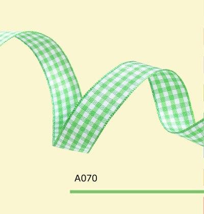 7 8 inch 22mm green font b tartan b font ribbon
