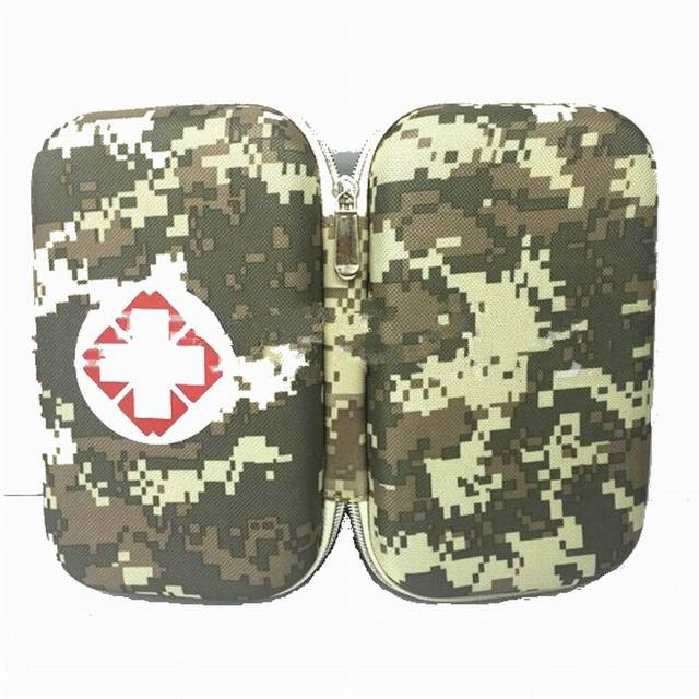 Camouflage Person Portable Outdoor Waterproof EVA First Aid Kit Bag for Family Travel Security Emergency Kits Medical Treatment