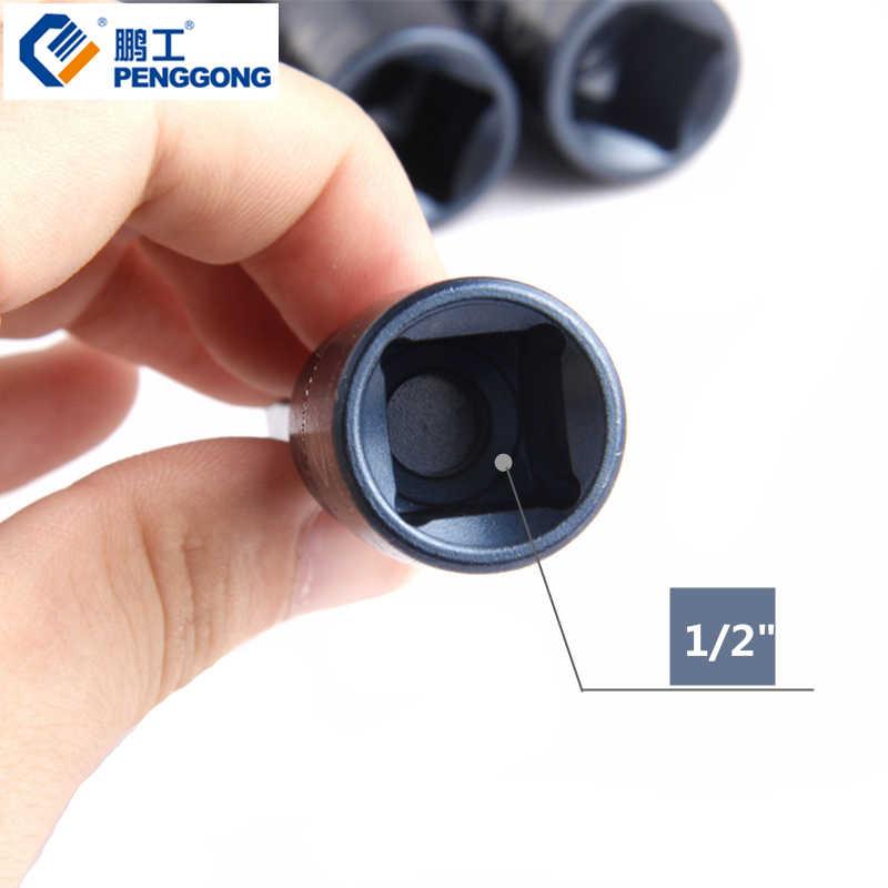"PENGGONG 1/2"" Screwdriver Bits Torx Socket 100mm Head Screwdriver S2 Power Tool Accessories For Auto Repair 1PC"