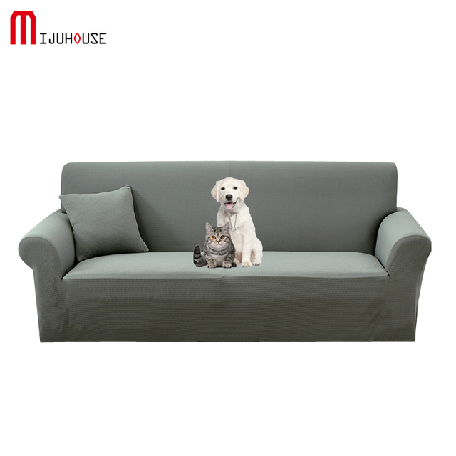 Waterproof Functional Sofa Cover Polyester Elastic Tight Package Full Cover Pet Non-slip Sofa Cover Cushion 1/2/3/4-Seater