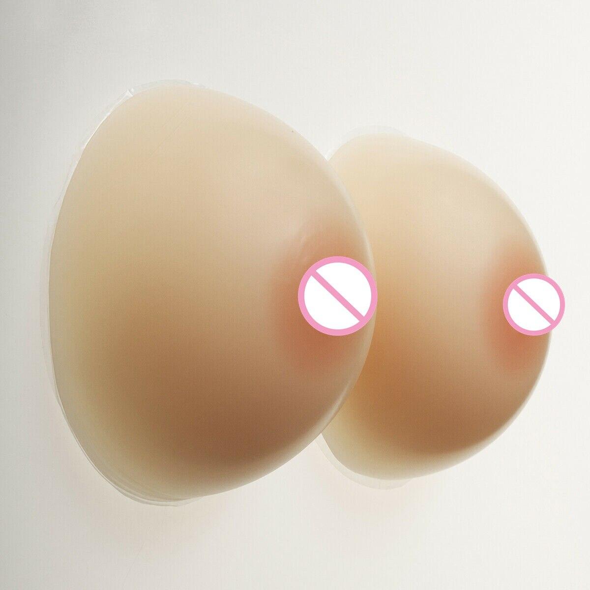 IVITA 1400 g/paire Silicone poitrine formes TG Crossdresser faux seins E tasse seins soutien-gorge Push Up sans fil soutien-gorge rose soutien-gorge