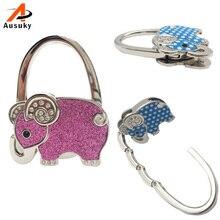 Elephant Hook Bag Fashion Creative Metal Folding Table Buckle Bag Filter Hook Hanger Bag Holder 30