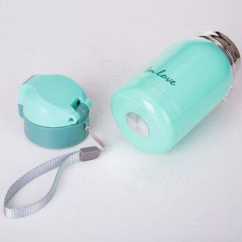 1 piezas Mini amantes termo taza de acero inoxidable aspiradora termos taza de café aislante termotaza termal botella de agua