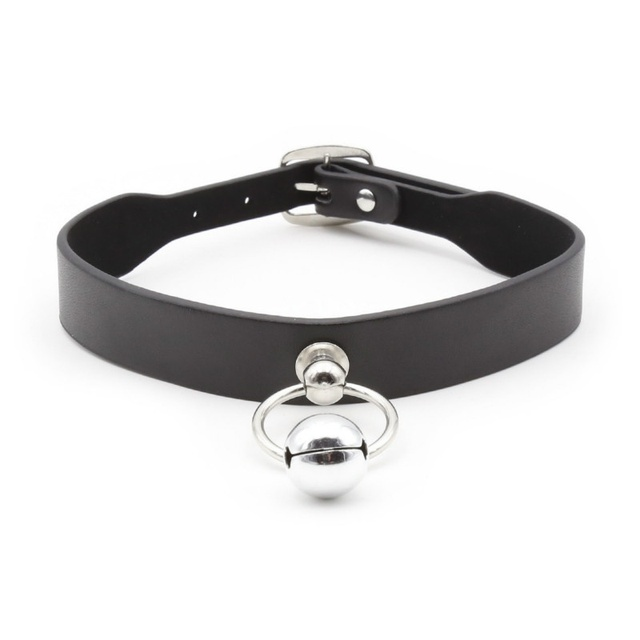 Bdsm Black Leather Neck Collar Bondage Short Clavicle Chain Ddlg Baby Girl Ddlg Collars For Women Abdl Little Space