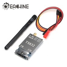 In Stock Eachine TS832 Boscam FPV 5.8G 48CH 600mW 7.4-16V Wireless AV Transmitter for RC Camera Drone FPV Quadcopter Goggles DIY(China)