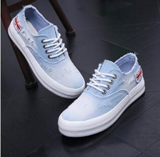 Respirable Plataformas azul 2017 Zapatos Mezclilla Cordones Con Lona azul Goma La Ocasional Sólido Verano Las Mujer De Cielo Negro Para Adultos Mujeres qPrgRq85