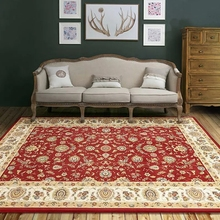 Retro style classical carpet living room big size coffee table carpet, rectangle ground mat , Persian home decoration