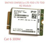 Em7455 dw5811e pn 3p10y fdd/tdd lte cat6 4g модуль карта для