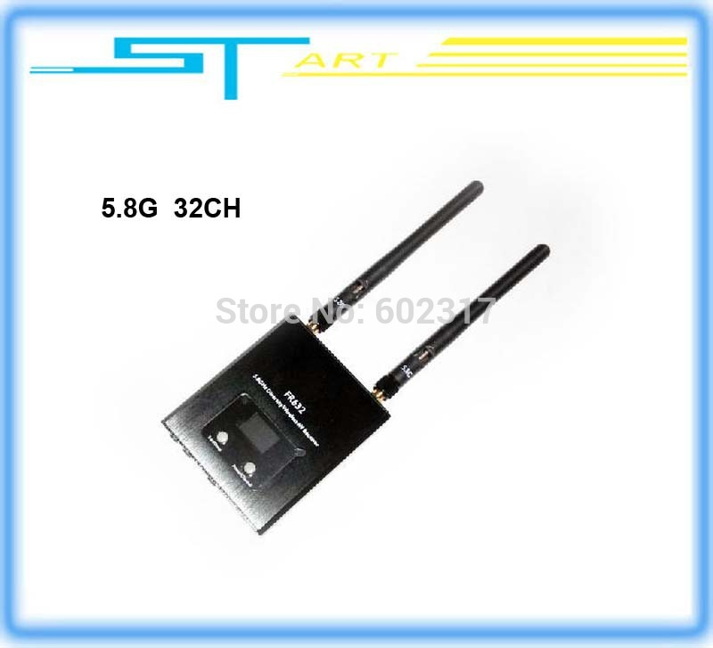 Dual 5.8 G 32 frequency sweep frequency receiver/double <font><b>road</b></font> extension <font><b>Blu-ray</b></font> three-way output liquid LED displa supernova