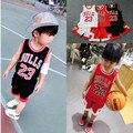 Baloncesto para niños juego de los niños camisa masculina niña bebé grande para niños en el jardín de infantes y escuela primaria rendimiento