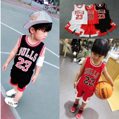 Crianças camisa de basquete terno das crianças do sexo masculino menina bebê grande para crianças no jardim de infância e escola primária desempenho