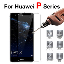 For Huawei P10 Tempered Glass P9 Lite Screen Protector P8 Light P8lite 2017 Protective Hawei P9lite P10lite Display P 8 9 10 ite(China)