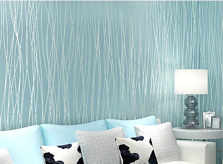 Decorar dormitorio con papel pintado papel pintado del - Catalogo de papel pintado para paredes ...
