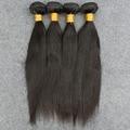 Indian Virgin Hair Straight 4 Bundles Indian Hair Weave bundles 8A Unprocessed Human hair weaving High Quality Hair Bundles