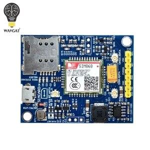 Image 3 - WAVGAT SIM868 GSM جي بي آر إس نظام تحديد المواقع BT الخلوية وحدة مصغرة SIM868 لوحة SIM868 لوحة القطع ، بدلا من SIM808
