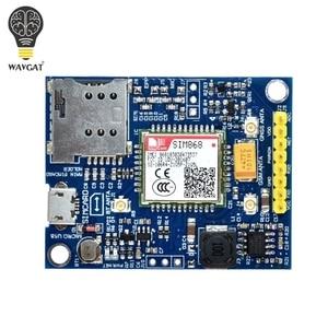 Image 3 - WAVGAT SIM868 GSM GPRS GPS BT מודול סלולארי מיני SIM868 לוח SIM868 הבריחה לוח, במקום SIM808