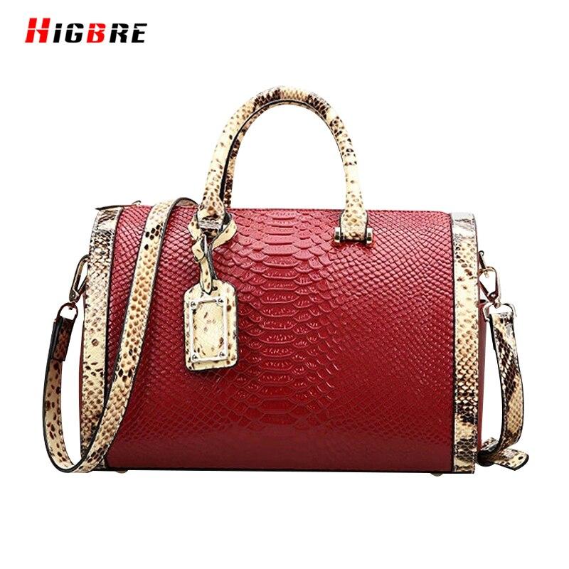 ФОТО Casual Luxury Women Pillow Bag Genuine Leather Handbags Women Bags Crocodile Pattern Totes Large Size Retro Bag Vintage Female